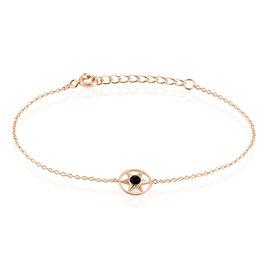 Bracelet Electra Argent Rose Agate - Bijoux Etoile Femme | Histoire d'Or