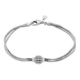 Bracelet Makana Argent Blanc - Bracelets fantaisie Femme   Histoire d'Or