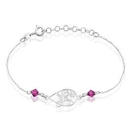 Bracelet Argent Flora - Bracelets fantaisie Femme | Histoire d'Or
