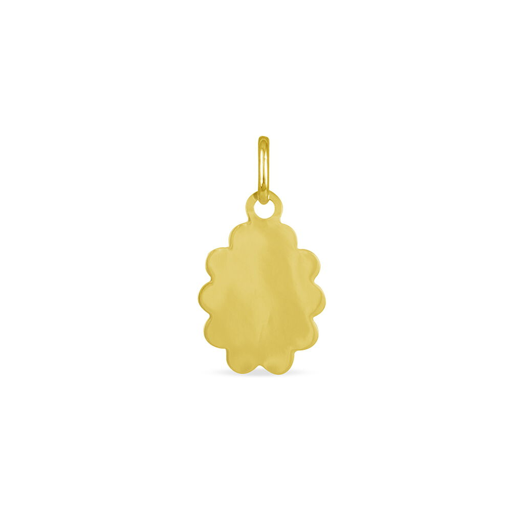 Pendentif Vierge Nuage Or Jaune - Bijoux Vierge Famille   Histoire d'Or