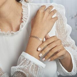 Bracelet Plaqué Or Jaune Jay - Bracelets Plume Femme   Histoire d'Or