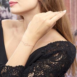 Bracelet Kim Argent Rose - Bracelets fantaisie Femme | Histoire d'Or