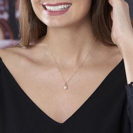 Collier Gladdie Or Jaune Perle De Culture - Bijoux Femme   Histoire d'Or
