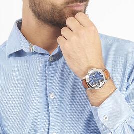 Montre Fossil Grant Twist Bleu - Montres Homme | Histoire d'Or