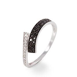 Bague Amelie Or Blanc Diamant - Bagues avec pierre Femme | Histoire d'Or
