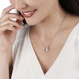 Collier Laury Argent Blanc Perle De Culture Et Oxyde De Zirconium - Colliers fantaisie Femme | Histoire d'Or