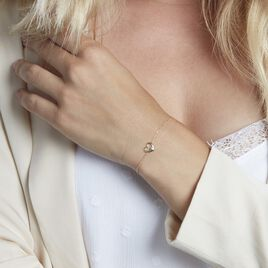 Bracelet Martella Or Jaune Saphir - Bracelets Coeur Femme   Histoire d'Or