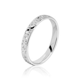 Alliance Elberta Or Blanc Diamant - Alliances Femme   Histoire d'Or