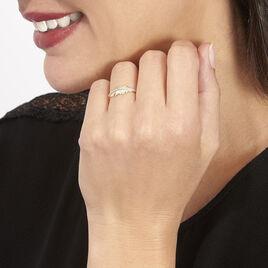 Bague Paola Or Jaune Et Diamants - Bagues Plume Femme | Histoire d'Or