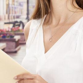 Collier Magdelene Argent Blanc Oxyde De Zirconium - Colliers fantaisie Femme | Histoire d'Or