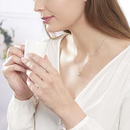Collier Anne-laure Or Rose Diamant - Bijoux Femme | Histoire d'Or