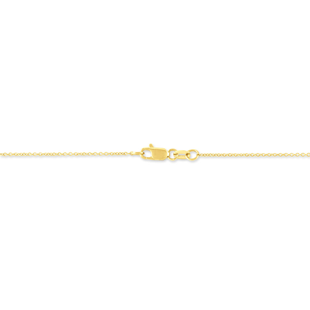 Collier Anya Or Jaune Diamant - Bijoux Femme   Histoire d'Or