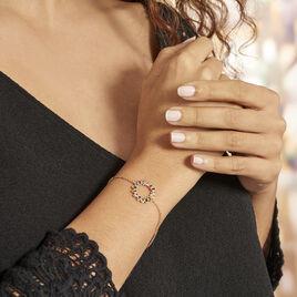 Bracelet Plaqué Or Jaune Ethem Pierres Multicolores - Bracelets fantaisie Femme | Histoire d'Or