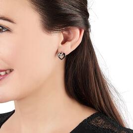 Boucles D'oreilles Argent - Boucles d'Oreilles Croix Femme | Histoire d'Or