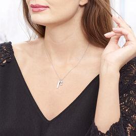 Collier Dreaming Argent Blanc Oxyde De Zirconium - Colliers Lune Femme | Histoire d'Or