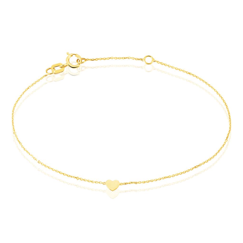 Bracelet Cinta Or Jaune - Bracelets Coeur Femme   Histoire d'Or