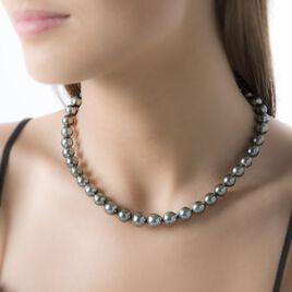 Collier Hendy Or Jaune Perle De Culture De Tahiti - Bijoux Femme | Histoire d'Or