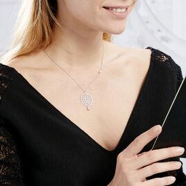 Collier Yolenn Argent Blanc Perle De Culture - Colliers fantaisie Femme | Histoire d'Or