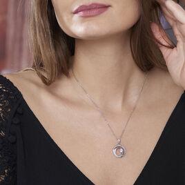 Collier Cedrine Argent Blanc Oxyde De Zirconium - Bijoux Femme   Histoire d'Or