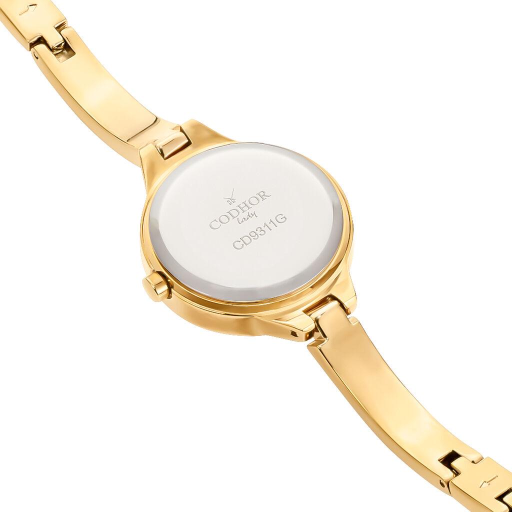 Montre Codhor Esma Champagne - Montres classiques Femme   Histoire d'Or