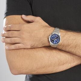 Montre Casio Edifice Bleu - Montres Homme   Histoire d'Or