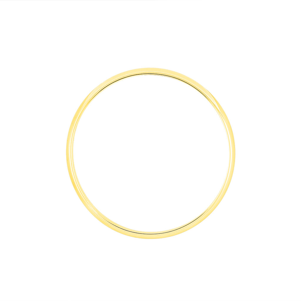 Alliance Meredithe Demi Jonc Classique Or Jaune - Alliances Unisexe | Histoire d'Or