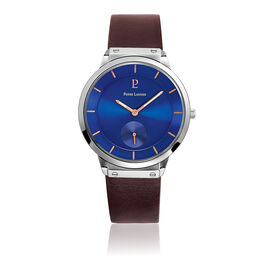 Montre Pierre Lannier Collection Elegance Style Bleu - Montres classiques Homme | Histoire d'Or