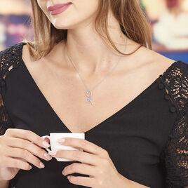 Collier Haspa Argent Blanc - Colliers fantaisie Femme | Histoire d'Or
