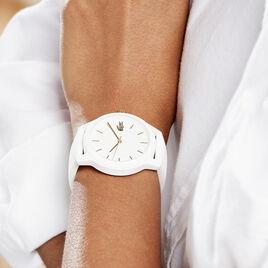 Montre Lacoste 12.12 Blanc - Montres tendances Femme | Histoire d'Or