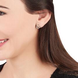 Boucles D'oreilles Puces Atlanta Or Jaune Diamant - Clous d'oreilles Femme | Histoire d'Or