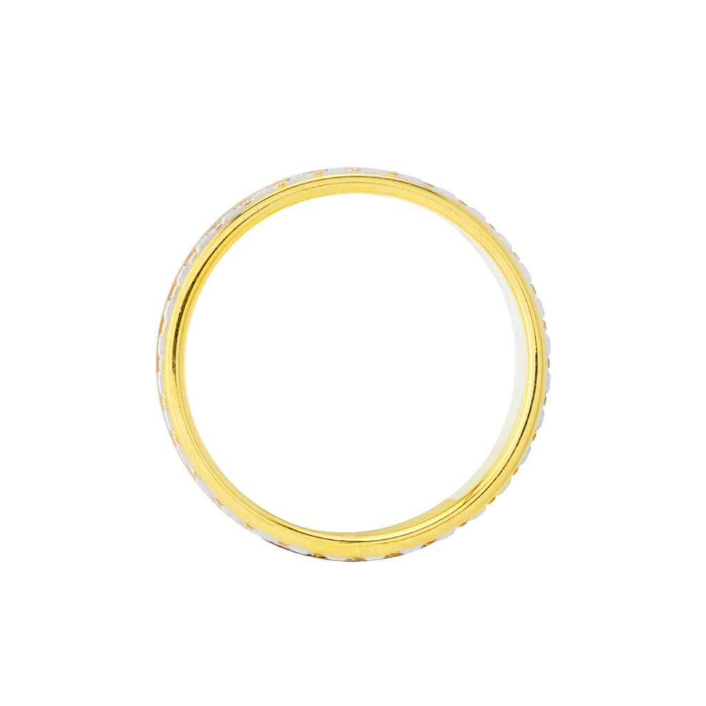 Alliance Triade Ruban Plat Or Tricolore - Alliances Unisexe | Histoire d'Or