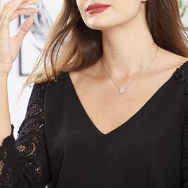 Collier Hyelana Argent Blanc Oxyde De Zirconium - Colliers fantaisie Femme | Histoire d'Or