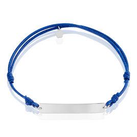 Bracelet Francisca Argent Blanc - Bracelets cordon Homme | Histoire d'Or