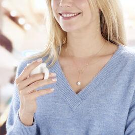 Collier Kandida Or Jaune Perle De Culture - Colliers Coeur Femme | Histoire d'Or