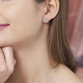 Boucles D'oreilles Plaque Or Marguerita - Boucles d'oreilles fantaisie Femme | Histoire d'Or