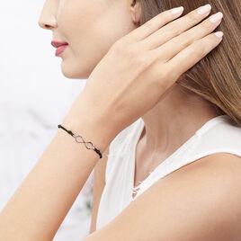 Bracelet Infini Argent Blanc - Bracelets Infini Femme | Histoire d'Or