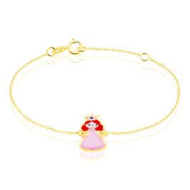 Bracelet Fantasila Princesse Or Jaune - Bracelets Naissance Enfant   Histoire d'Or