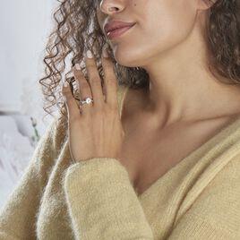 Bague Solitaire Maellyne Argent Blanc Oxyde De Zirconium - Bagues solitaires Femme   Histoire d'Or