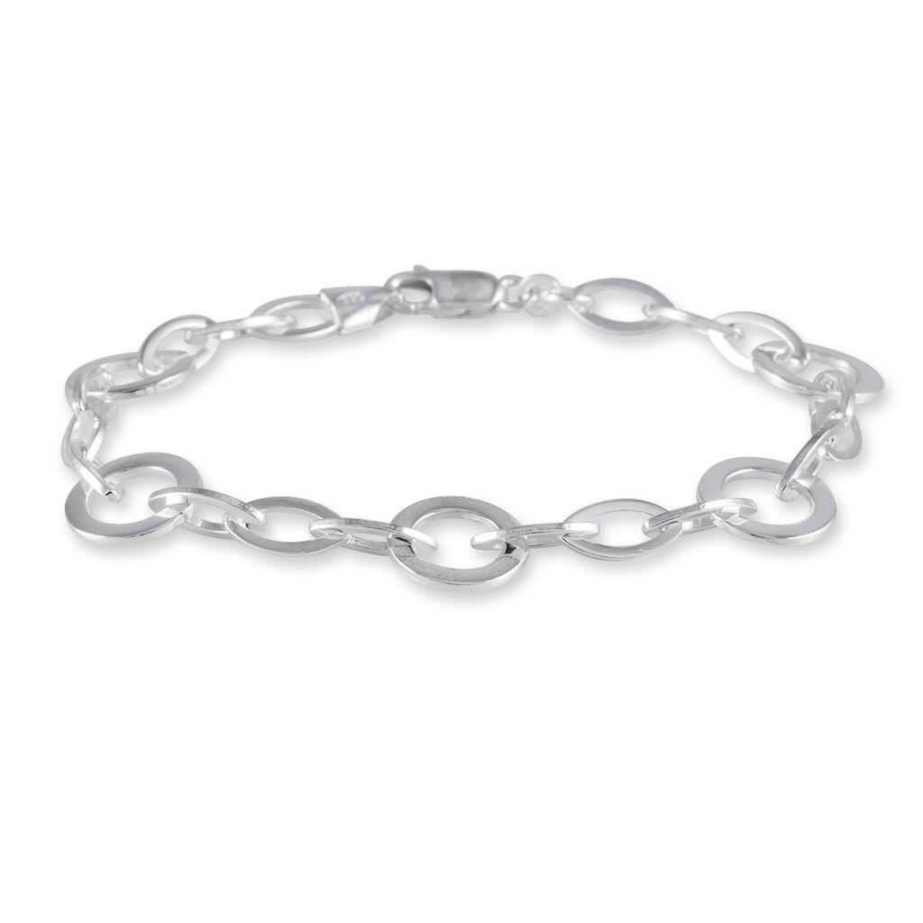 Bracelet Marylaae Argent Blanc - Bracelets chaîne Femme | Histoire d'Or