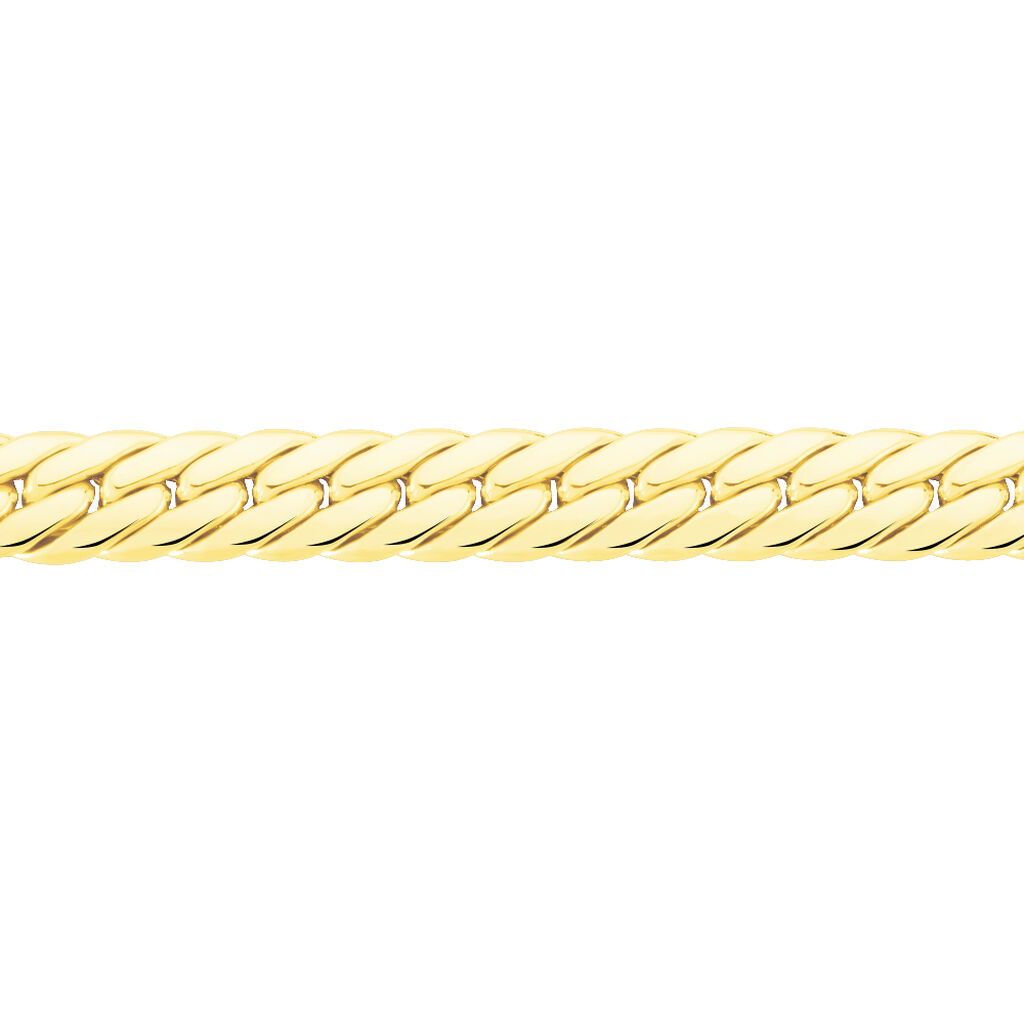 Collier Izel Maille Anglaise Or Jaune - Chaines Femme   Histoire d'Or