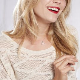 Collier Ignaza Or Blanc Diamant - Bijoux Femme | Histoire d'Or