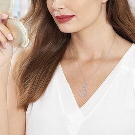 Collier Africa Argent Blanc - Colliers fantaisie Femme | Histoire d'Or