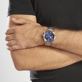 Montre Emporio Armani Mario Bleu - Montres Homme | Histoire d'Or