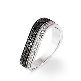 Bague Maelyna Or Blanc Diamant - Bagues avec pierre Femme | Histoire d'Or