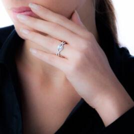Bague Misty Argent Gris Oxyde De Zirconium - Bagues solitaires Femme | Histoire d'Or