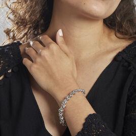 Bracelet Argent Rhodié Shahi - Bijoux Femme   Histoire d'Or