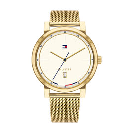 Montre Tommy Hilfiger Thompson Champagne - Montres Homme | Histoire d'Or