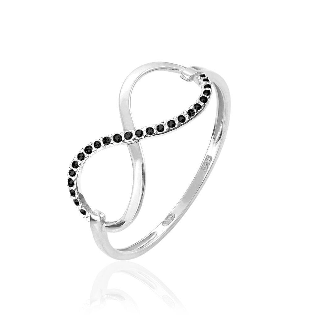 Bague Anais Or Blanc Diamant - Bagues Infini Femme | Histoire d'Or
