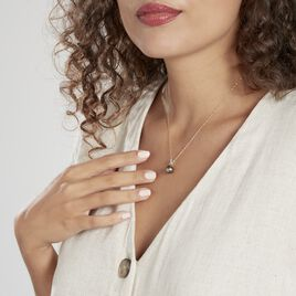 Pendentif Nilma Or Jaune Perle De Culture De Tahiti Et Diamant - Pendentifs Femme   Histoire d'Or