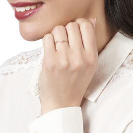 Bague Maye Or Rose Diamant - Bagues solitaires Femme | Histoire d'Or